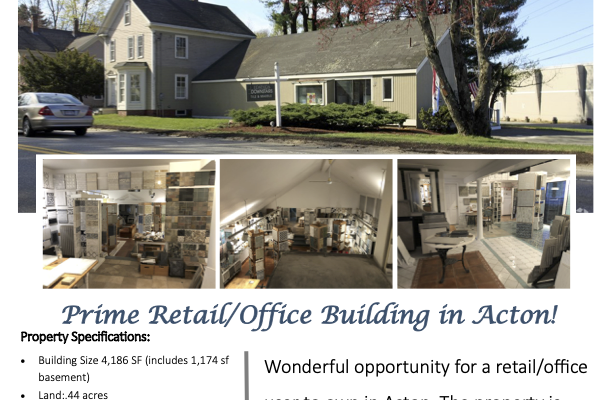 Download Brochure For 6 Great Road, Acton, MA 01720